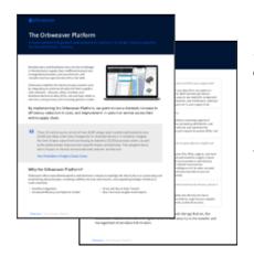 Orbweaver Platform Sheet Thumbnail